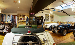 Morgan Belgium show room