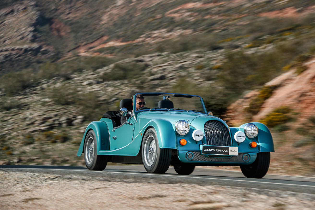 Morgan Belgium Plus four