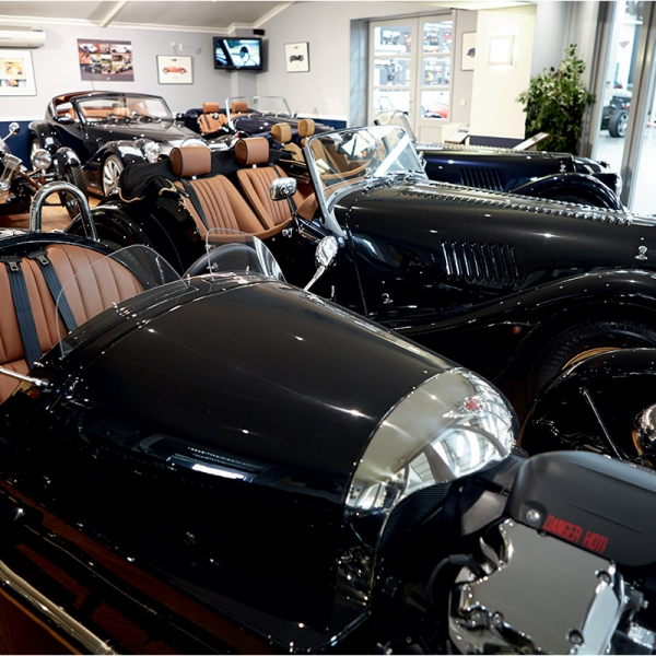 Morgan Belgium Garage