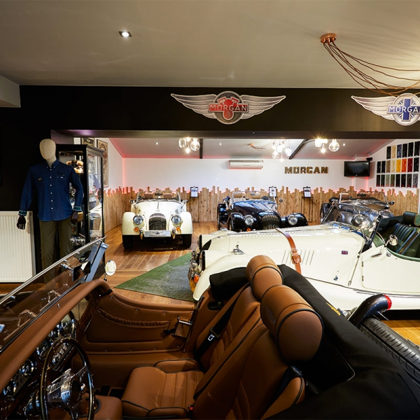 Morgan Belgium Showroom