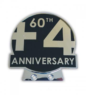 Badge 60 jaar Plus 4 [ART 75] 92,19€ BTW inb