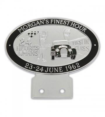 Badge Le Mans zwart [ART 74] 108,09€ BTW inb