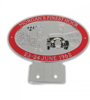 Badge Le Mans rood [ART 73] 108,09€ BTW inb