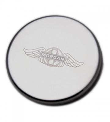 Stuurwielcentrum gegraveerd oud logo Morgan (voor 07-1997) [ART 35B] 118,70€ BTW inb
