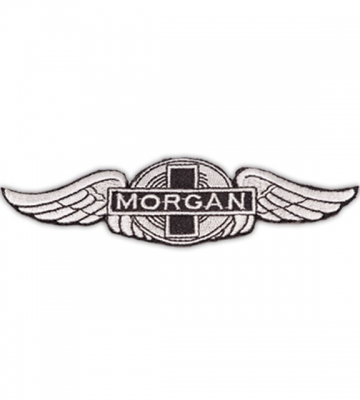 Opnaaivilt geborduurd Morgan logo (13cm x 4,5cm) [ART 177] 33,61€ BTW inb