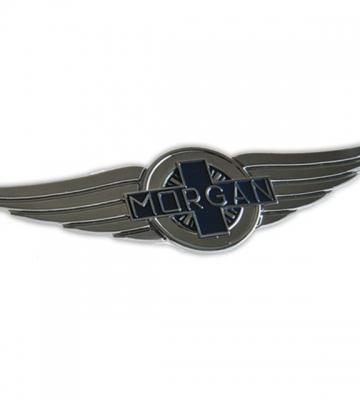 Nieuw Morgan kenteken voor radiatorrooster (15,5cm x 3,7cm) [ART 81] 52,65€ BTW inb