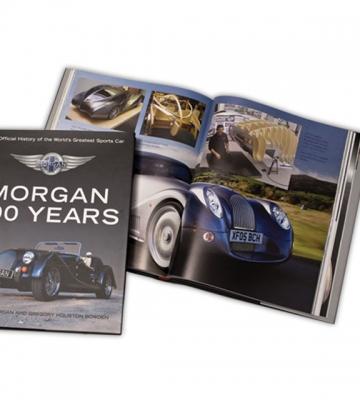 Boek 100 jaar Morgan in het engels  [ART 227] 52,62€ BTW inb