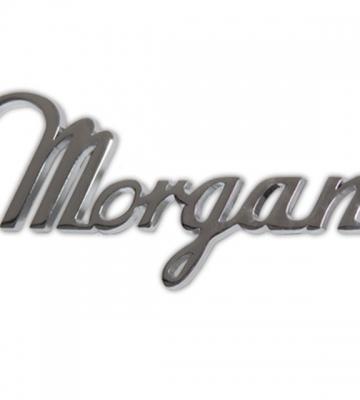 Morgan logo voor achteraan [ART 82] 31,47€ BTW inb