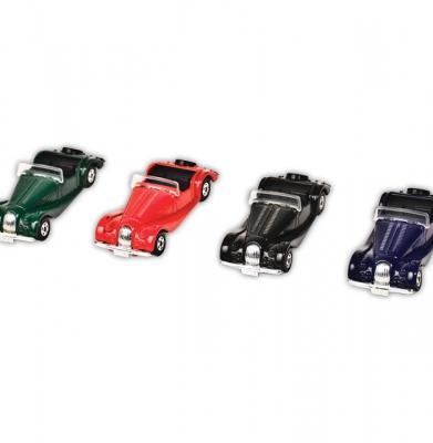 Miniatuur 1/57 rood, groen, zwart, paars [ART 197] 5,13€ BTW inb