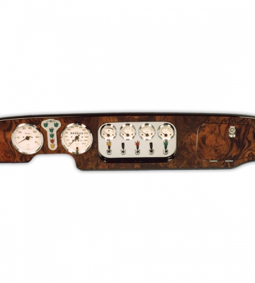 Dashboard in notenhout voor 07-1997 [ART 48] 729,39€ BTW inb