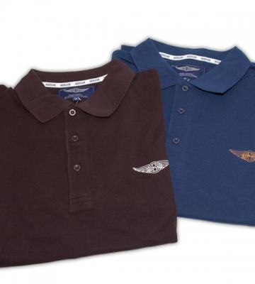 Polo shirt blauw, zwart of bruin [ART 154] 40,70€ BTW inb