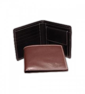 Portefeuille in bruin of zwart leder [ART 185] 51,40€ BTW inb