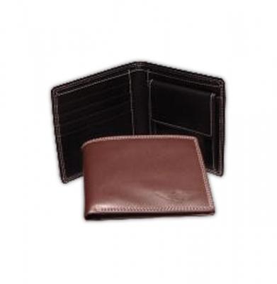 Portefeuille en cuir brun ou noir [ART 185] 51,40€ tvac
