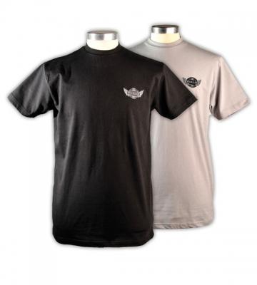 T-shirt Centenary voor heren zwart en grijs (S-M-L-XL-XXL) [ART 223] 30,49€ BTW inb