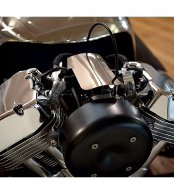 Inox motor beschermplaat 3 Wheeler [ART 251] 82,89€ BTW inb