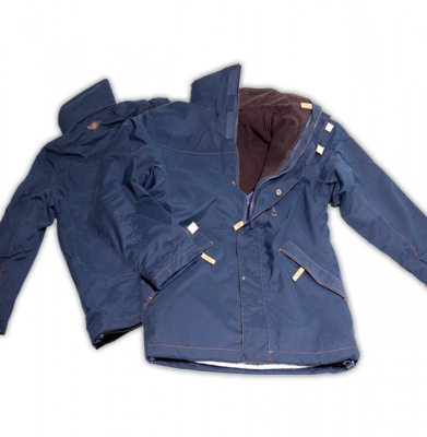 Vest fleece 2 in 1 blauw M-L-XL-XXL [ART 160] 216,29€ BTW inb